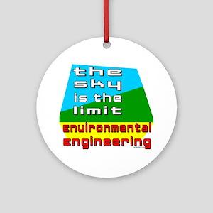Environmental Engineering Ornament (Round)