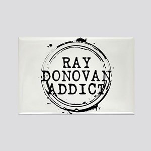 Ray Donovan Addict Stamp Rectangle Magnet