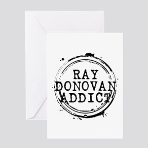 Ray Donovan Addict Stamp Greeting Card