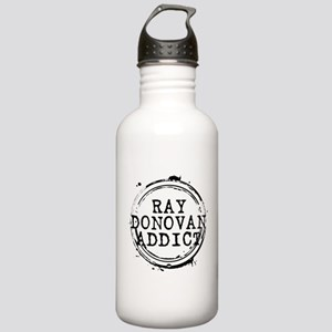 Ray Donovan Addict Stamp Stainless Water Bottle 1.