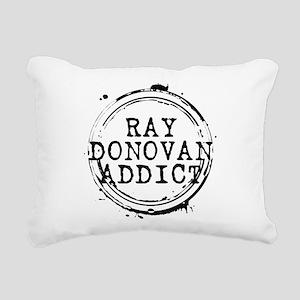 Ray Donovan Addict Stamp Rectangular Canvas Pillow