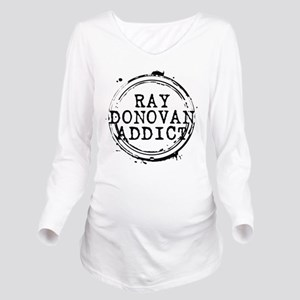 Ray Donovan Addict Stamp Long Sleeve Maternity T-S