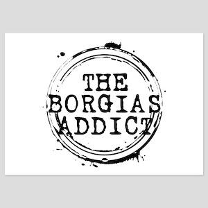 The Borgias Addict Stamp 5x7 Flat Cards