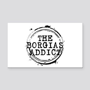 The Borgias Addict Stamp Rectangle Car Magnet