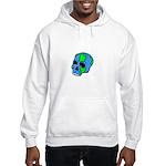Skull Earth Hooded Sweatshirt