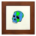Skull Earth Framed Tile