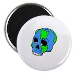 Skull Earth Magnet