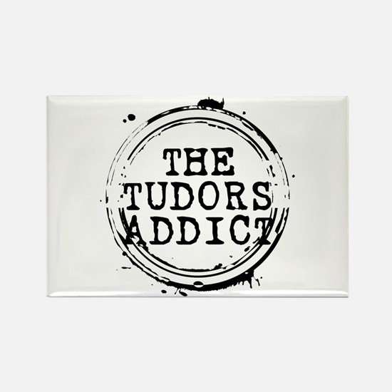 The Tudors Addict Stamp Rectangle Magnet