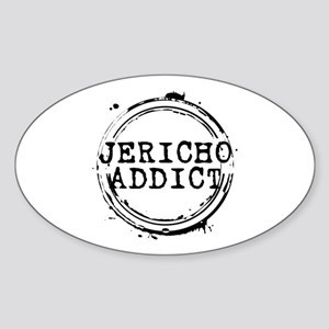 Jericho Addict Stamp Oval Sticker