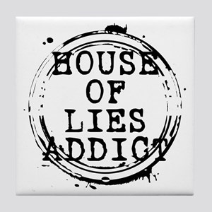 House of Lies Addict Stamp Tile Coaster