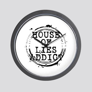 House of Lies Addict Stamp Wall Clock