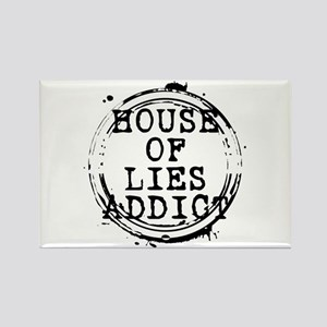 House of Lies Addict Stamp Rectangle Magnet