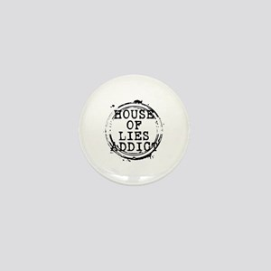 House of Lies Addict Stamp Mini Button