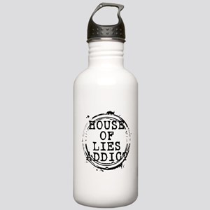 House of Lies Addict Stamp Stainless Water Bottle