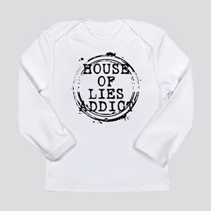 House of Lies Addict Stamp Long Sleeve Infant T-Sh