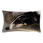 Sleeping Borzoi Pillow Case