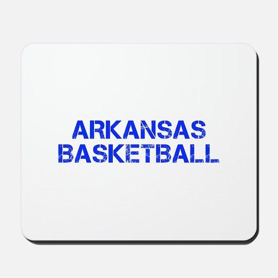 ARKANSAS basketball-cap blue Mousepad