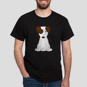 Cartoon Jack Russell Terrier {brown} T-Shirt