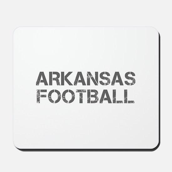 ARKANSAS football-cap gray Mousepad
