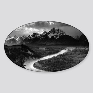 Ansel Adams The Tetons and the Snake River Sticker