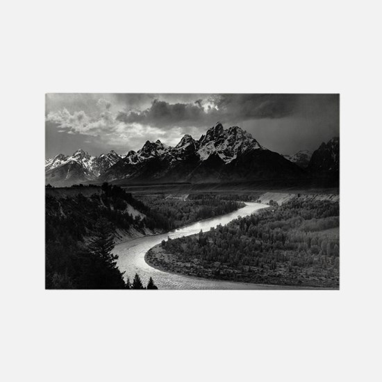 Ansel Adams The Tetons and the Snake River Magnets