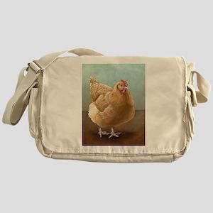 Buff Orpington Hen Messenger Bag