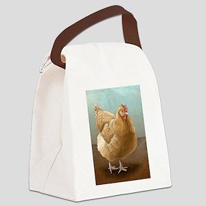 Buff Orpington Hen Canvas Lunch Bag