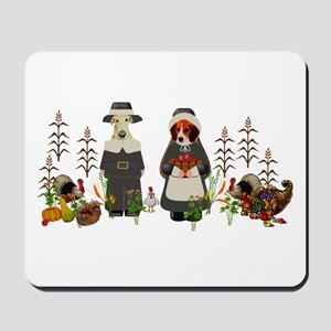 Thanksgiving Dogs Mousepad