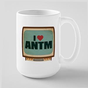 Retro I Heart ANTM Large Mug