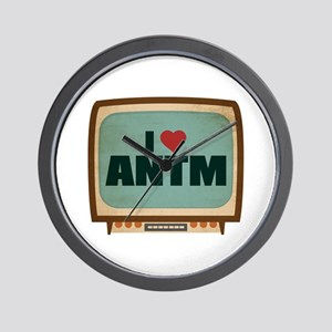 Retro I Heart ANTM Wall Clock