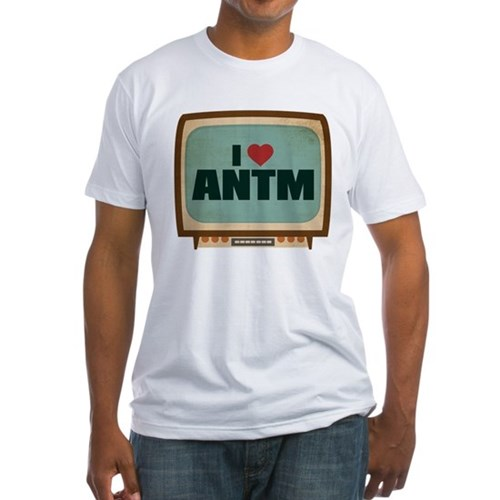 Retro I Heart ANTM Fitted T-Shirt