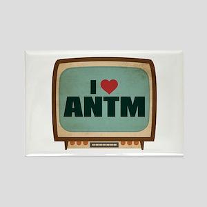 Retro I Heart ANTM Rectangle Magnet
