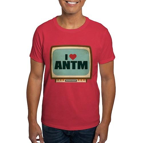 Retro I Heart ANTM Dark T-Shirt