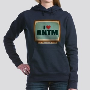 Retro I Heart ANTM Woman's Hooded Sweatshirt