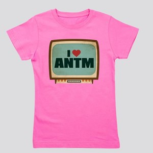 Retro I Heart ANTM Girl's Dark Tee