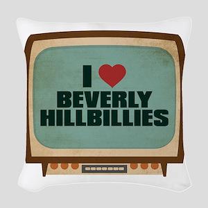 Retro I Heart Beverly Hillbillies Woven Throw Pill