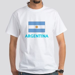 Argentina Flag Classic Blue Design T-Shirt