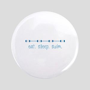 "Eat Sleep Swim 3.5"" Button"