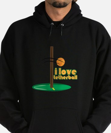 I Love Tetherball Hoodie