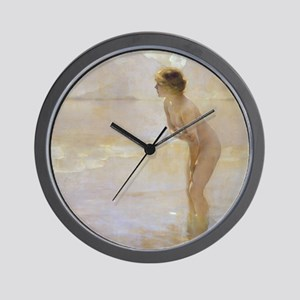 Paul Chabas September Morn Wall Clock