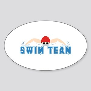 Swim Team Sticker