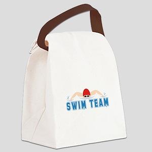 Swim Team Canvas Lunch Bag