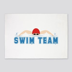 Swim Team 5'x7'Area Rug