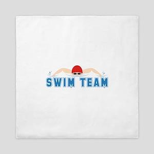 Swim Team Queen Duvet