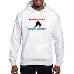 How Quick? Ninja Quick! Martial art hoodie