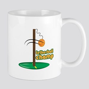 Tetherball Champ Mugs