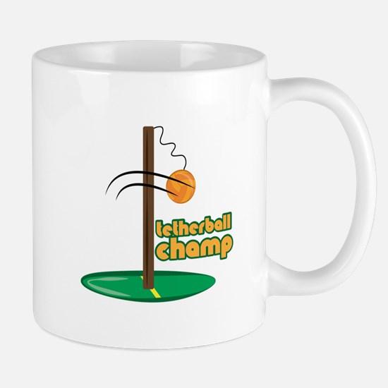 Tetherball Champ Mugs