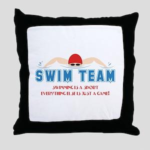 Its A Sport Throw Pillow
