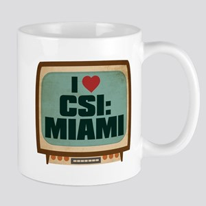 Retro I Heart CSI: Miami Mug
