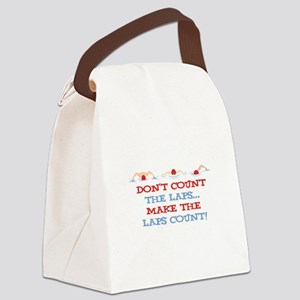 Make Laps Count Canvas Lunch Bag